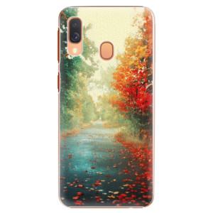 Plastové pouzdro iSaprio Podzim 03 na mobil Samsung Galaxy A40