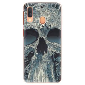 Plastové pouzdro iSaprio Abstract Skull na mobil Samsung Galaxy A40