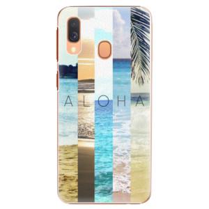 Plastové pouzdro iSaprio Aloha 02 na mobil Samsung Galaxy A40