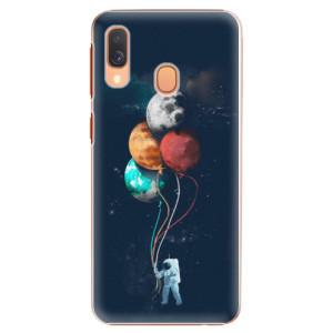 Plastové pouzdro iSaprio Balónky 02 na mobil Samsung Galaxy A40