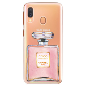 Plastové pouzdro iSaprio Chanel Rose na mobil Samsung Galaxy A40