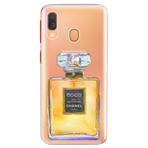 Plastové pouzdro iSaprio Chanel Gold na mobil Samsung Galaxy A40