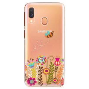 Plastové pouzdro iSaprio Včelka Pája 01 na mobil Samsung Galaxy A40