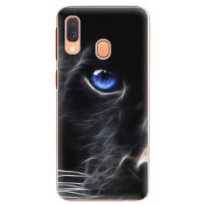 Plastové pouzdro iSaprio Black Puma na mobil Samsung Galaxy A40