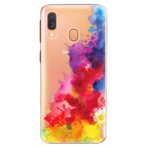 Plastové pouzdro iSaprio Color Splash 01 na mobil Samsung Galaxy A40