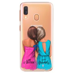 Plastové pouzdro iSaprio Best Friends na mobil Samsung Galaxy A40