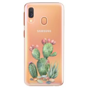 Plastové pouzdro iSaprio Kaktusy 01 na mobil Samsung Galaxy A40