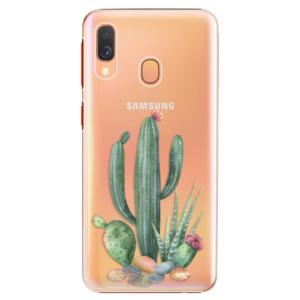 Plastové pouzdro iSaprio Kaktusy 02 na mobil Samsung Galaxy A40