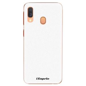 Plastové pouzdro iSaprio 4Pure bílé na mobil Samsung Galaxy A40
