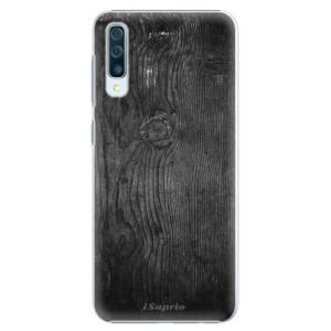 Plastové pouzdro iSaprio Black Wood 13 na mobil Samsung Galaxy A50