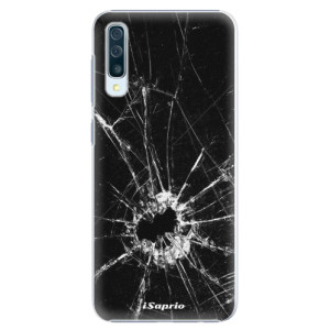 Plastové pouzdro iSaprio Broken Glass 10 na mobil Samsung Galaxy A50