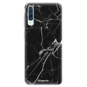 Plastové pouzdro iSaprio Black Marble 18 na mobil Samsung Galaxy A50