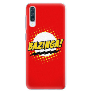 Plastové pouzdro iSaprio Bazinga 01 na mobil Samsung Galaxy A50