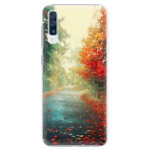 Plastové pouzdro iSaprio Podzim 03 na mobil Samsung Galaxy A50
