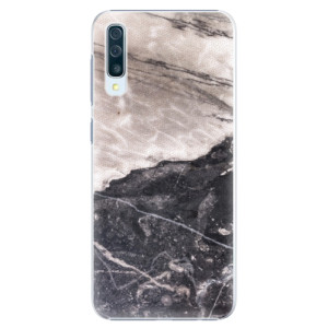 Plastové pouzdro iSaprio BW Mramor na mobil Samsung Galaxy A50