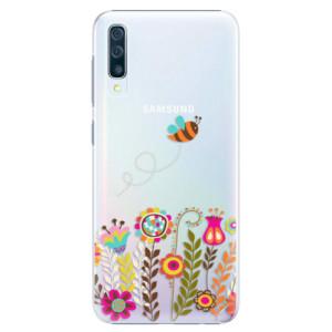 Plastové pouzdro iSaprio Včelka Pája 01 na mobil Samsung Galaxy A50