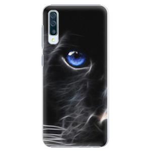 Plastové pouzdro iSaprio Black Puma na mobil Samsung Galaxy A50
