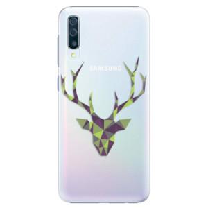 Plastové pouzdro iSaprio Zelený Jelínek na mobil Samsung Galaxy A50 / A30s