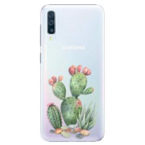 Plastové pouzdro iSaprio Kaktusy 01 na mobil Samsung Galaxy A50