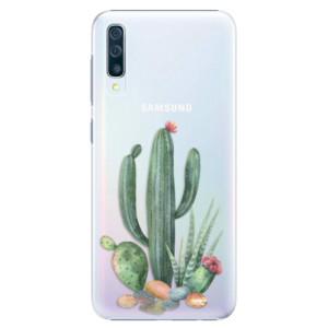 Plastové pouzdro iSaprio Kaktusy 02 na mobil Samsung Galaxy A50