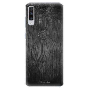 Plastové pouzdro iSaprio Black Wood 13 na mobil Samsung Galaxy A70