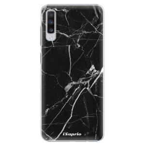 Plastové pouzdro iSaprio Black Marble 18 na mobil Samsung Galaxy A70