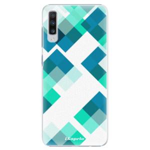 Plastové pouzdro iSaprio Abstract Squares 11 na mobil Samsung Galaxy A70