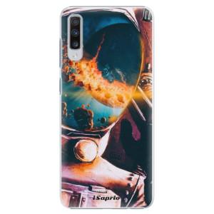 Plastové pouzdro iSaprio Astronaut 01 na mobil Samsung Galaxy A70