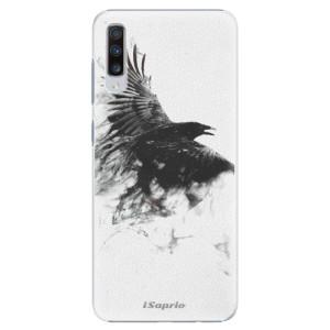 Plastové pouzdro iSaprio Havran 01 na mobil Samsung Galaxy A70