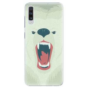 Plastové pouzdro iSaprio Naštvanej Medvěd na mobil Samsung Galaxy A70