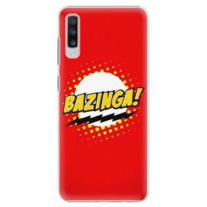 Plastové pouzdro iSaprio Bazinga 01 na mobil Samsung Galaxy A70