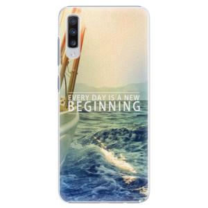 Plastové pouzdro iSaprio Beginning na mobil Samsung Galaxy A70