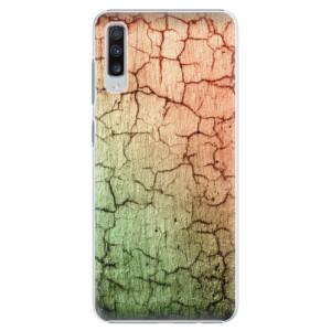 Plastové pouzdro iSaprio Rozpraskaná Zeď 01 na mobil Samsung Galaxy A70