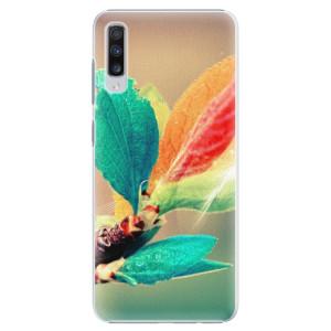 Plastové pouzdro iSaprio Podzim 02 na mobil Samsung Galaxy A70