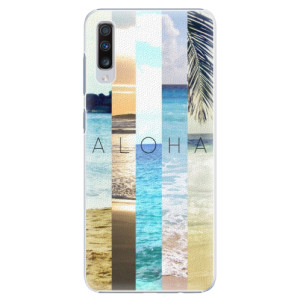 Plastové pouzdro iSaprio Aloha 02 na mobil Samsung Galaxy A70