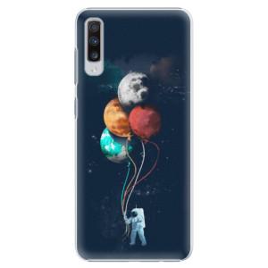 Plastové pouzdro iSaprio Balónky 02 na mobil Samsung Galaxy A70