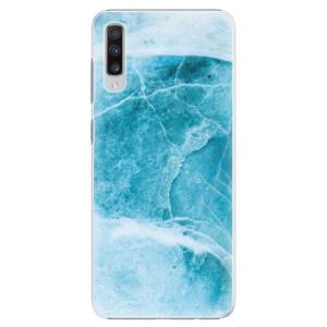 Plastové pouzdro iSaprio Blue Marble na mobil Samsung Galaxy A70
