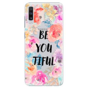 Plastové pouzdro iSaprio BeYouTiful na mobil Samsung Galaxy A70