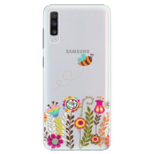 Plastové pouzdro iSaprio Včelka Pája 01 na mobil Samsung Galaxy A70