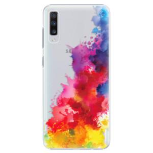 Plastové pouzdro iSaprio Color Splash 01 na mobil Samsung Galaxy A70