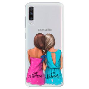 Plastové pouzdro iSaprio Best Friends na mobil Samsung Galaxy A70