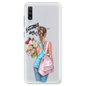 Plastové pouzdro iSaprio Beautiful Day na mobil Samsung Galaxy A70