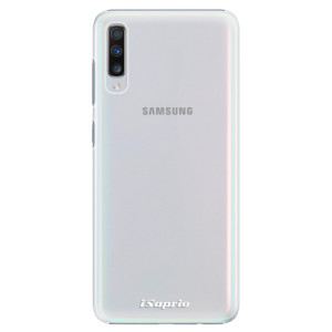 Plastové pouzdro iSaprio 4Pure mléčné bez potisku na mobil Samsung Galaxy A70