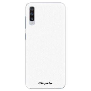Plastové pouzdro iSaprio 4Pure bílé na mobil Samsung Galaxy A70