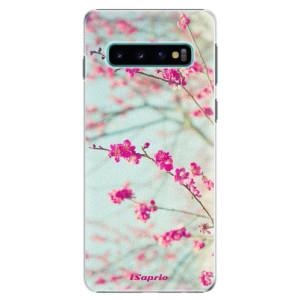 Plastové pouzdro iSaprio Blossom 01 na mobil Samsung Galaxy S10