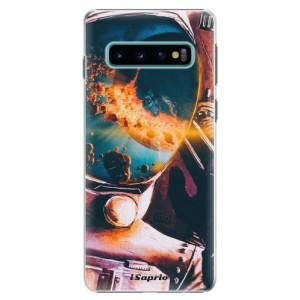 Plastové pouzdro iSaprio Astronaut 01 na mobil Samsung Galaxy S10