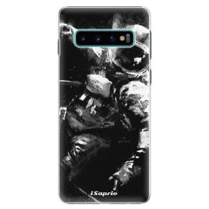 Plastové pouzdro iSaprio Astronaut 02 na mobil Samsung Galaxy S10