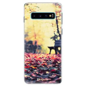 Plastové pouzdro iSaprio Bench 01 na mobil Samsung Galaxy S10