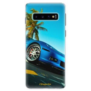 Plastové pouzdro iSaprio Kára 10 na mobil Samsung Galaxy S10