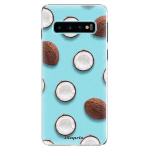 Plastové pouzdro iSaprio Kokos 01 na mobil Samsung Galaxy S10